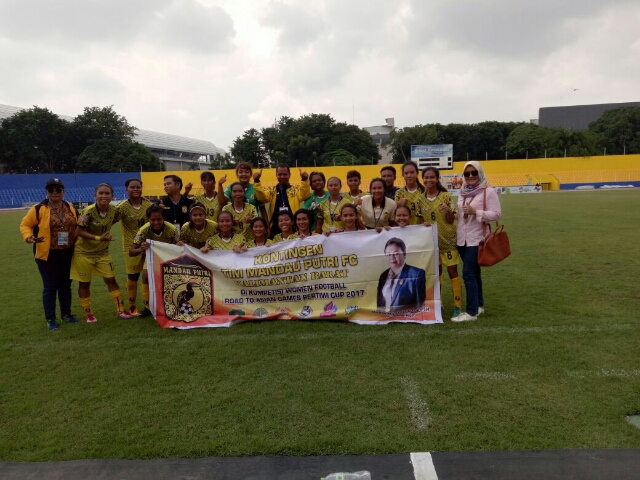 Kalbar Vs Papua di Final Piala Pertiwi
