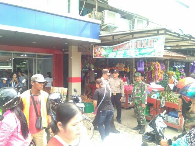 Jelang Natal,  TNI – Polri di Landak Patroli Bersama