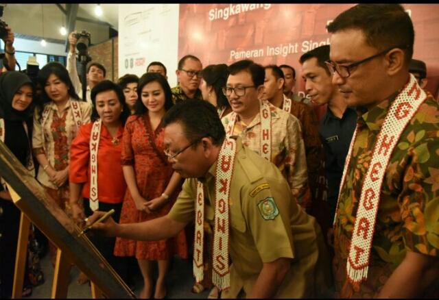 Gubernur Kalbar Resmikan Singkawang Cultural Center
