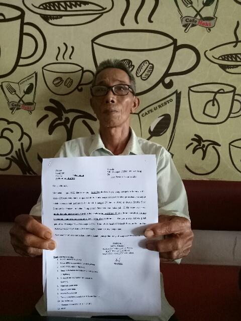 Mantan Karyawan Perusahaan Sawit HPI Agro di Landak Tuntut Pesangon