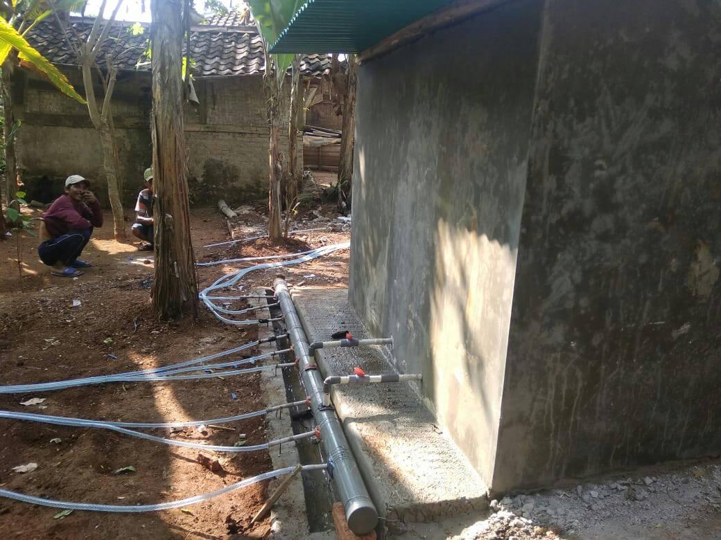 UI Bantu bencana kekeringan dengan program air bersih di Lebak Banten