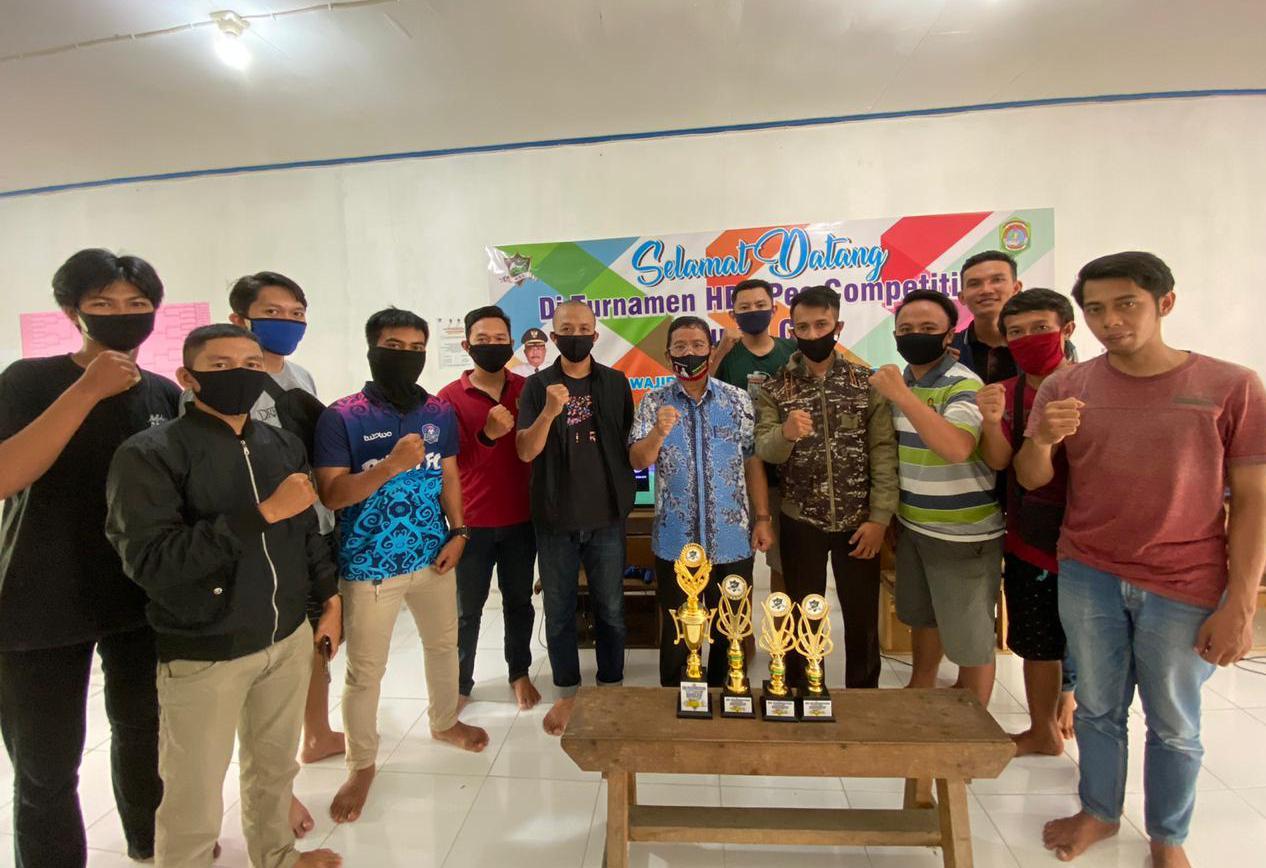 Tutup Turnamen HDL PES Competition, Bupati Cup 2020, Bupati Sekadau Dukung Elektronik Sport