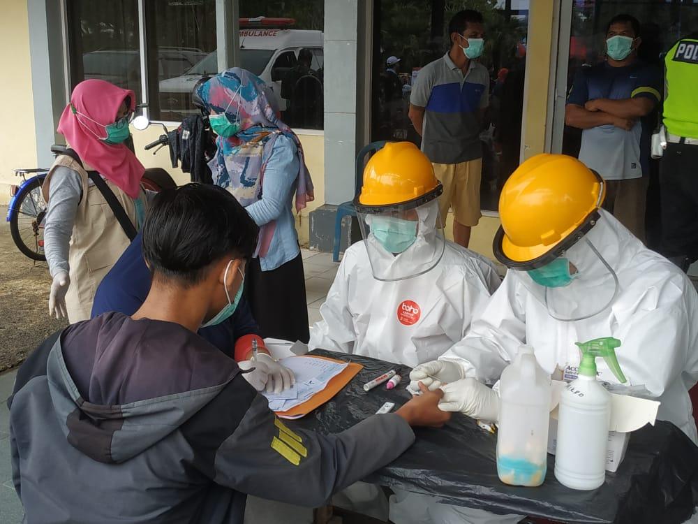 Dinkes Kalbar Razia Masker, Sasar Pusat Keramaian dan Indekos di Pontianak