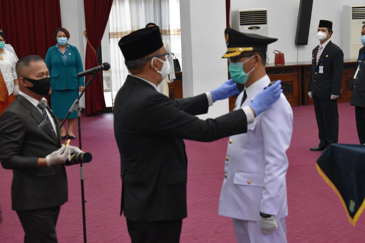 Yohanes Budiman Resmi Dilantik Gubernur Kalbar Jadi Pj Bupati Bengkayang