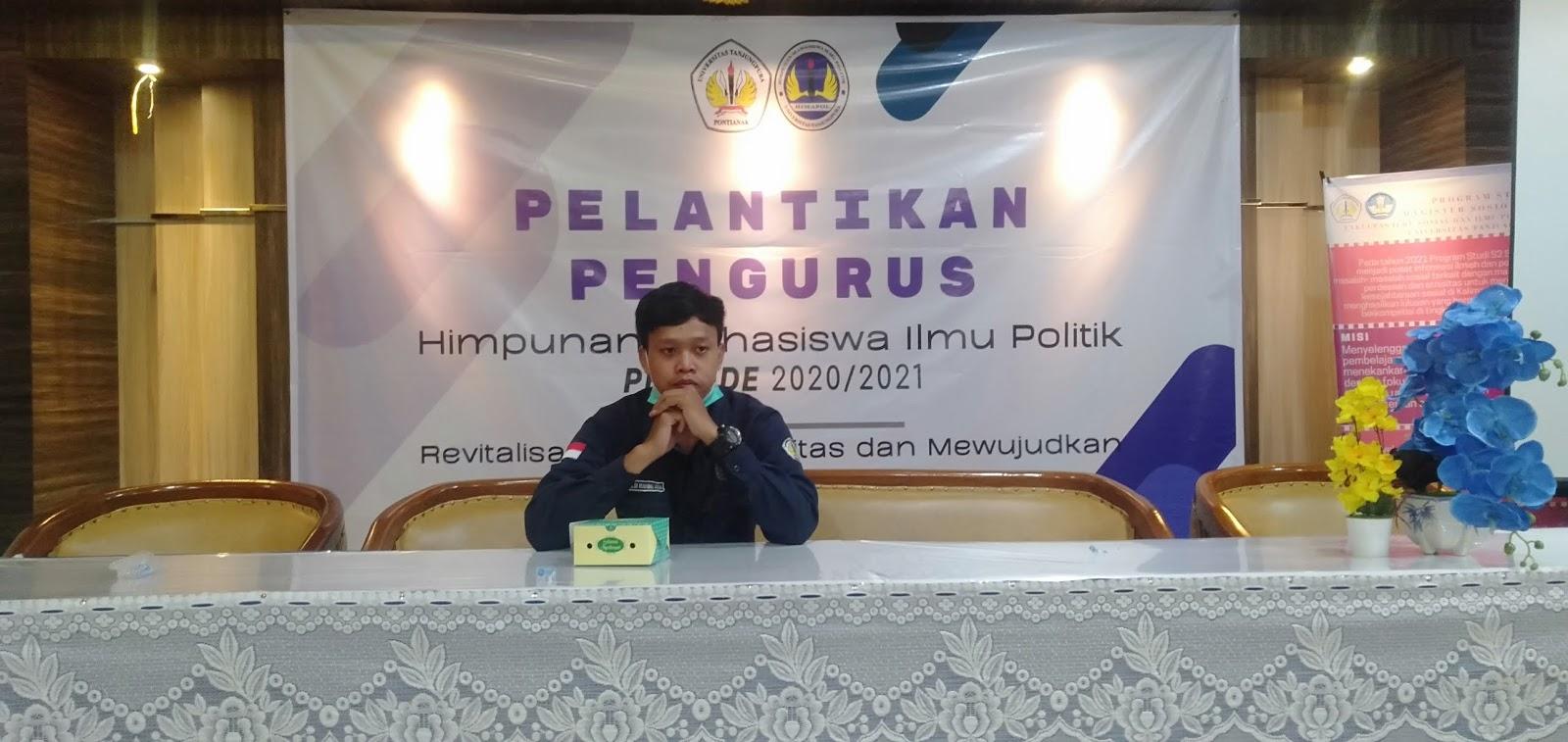 Resuffle Kabinet, Himapol Fisip Untan: Sebuah harapan baru untuk Indonesia Maju