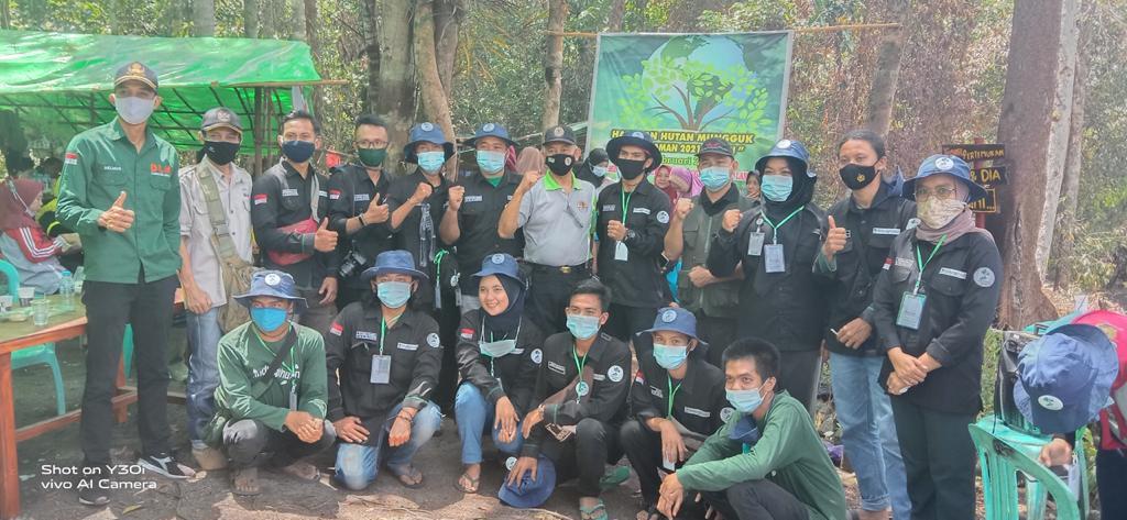 Tiga Organisasi Berkolaborasi Untuk Harapan Hutan Mungguk 2021