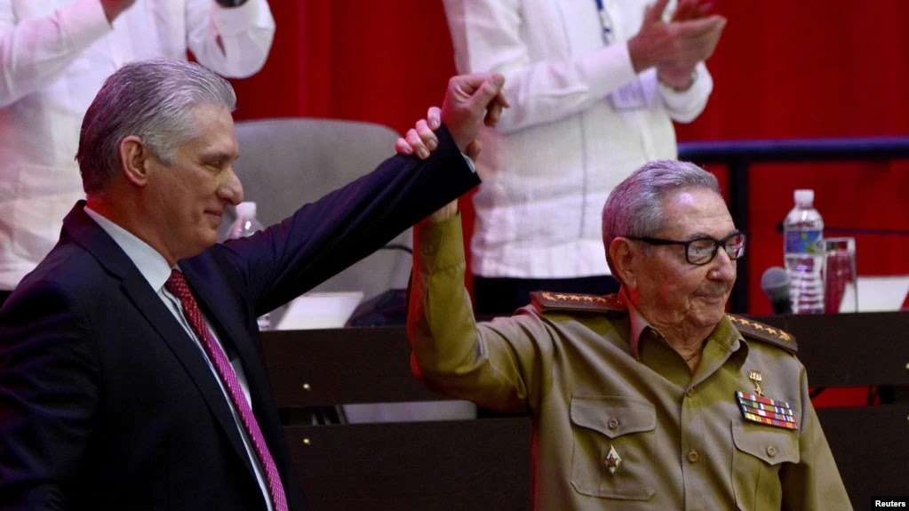 Diaz-Canel Dipilih Sebagai Pemimpin Baru Partai Komunis Kuba