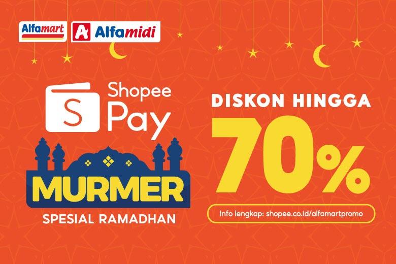 Alfamart, Alfamidi, dan ShopeePay Upayakan Belanja Ekonomis  untuk Persiapan Bulan Suci Ramadan