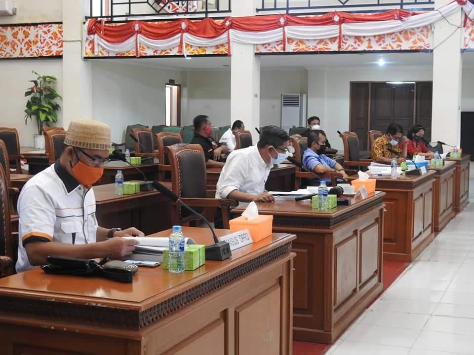 Pansus DPRD dan SKPD Landak  Rapat Bahas LKPj Bupati Tahun Anggaran 2020