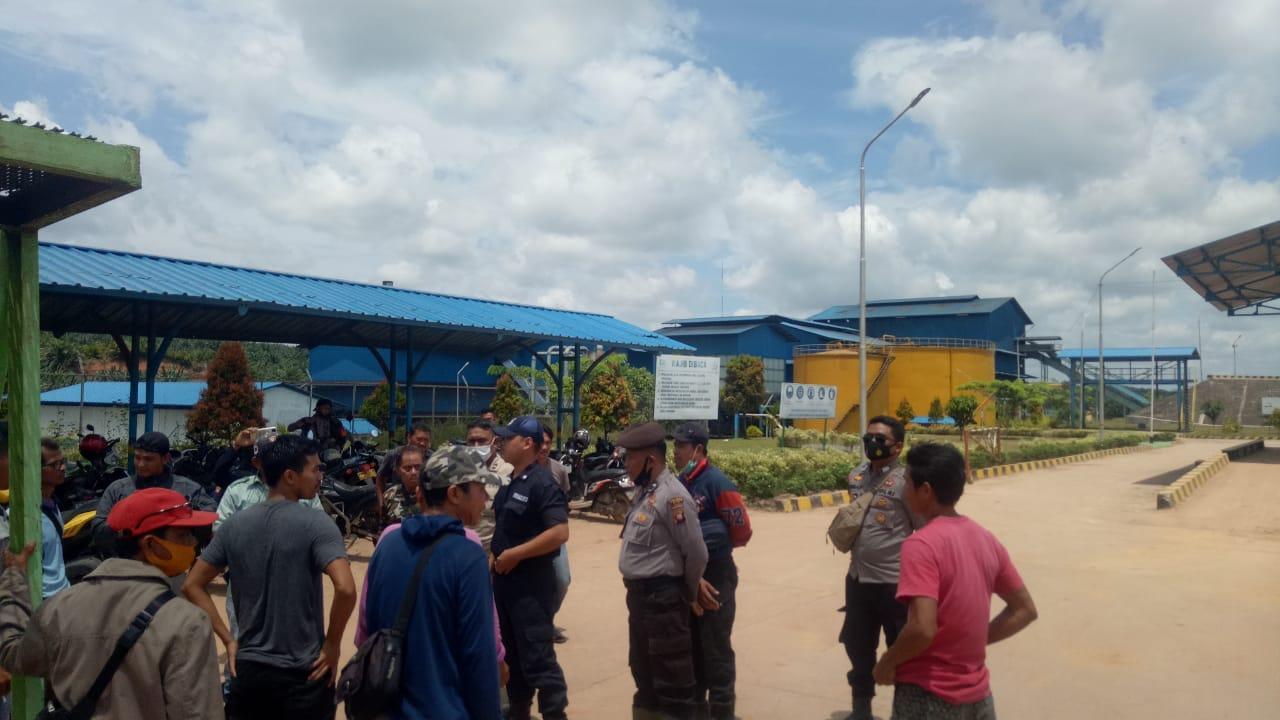 Beli Buah Sawit Rendah, Warga Ancam Tutup Pabrik PT Citra Mahkota