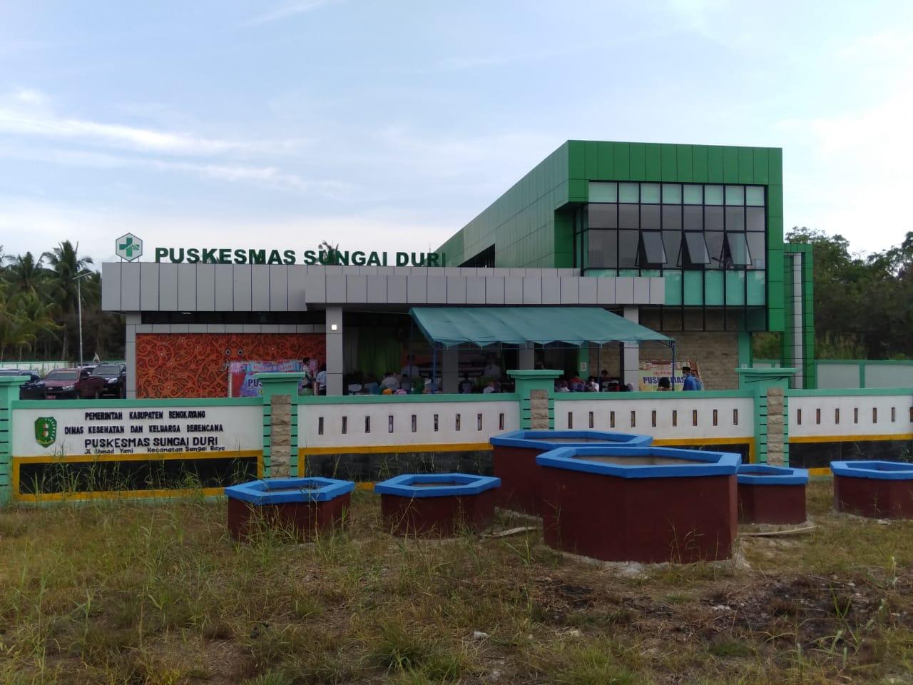 Darwis-Rizal Resmikan Gedung Baru Puskesmas Rawat Inap Sungai Duri