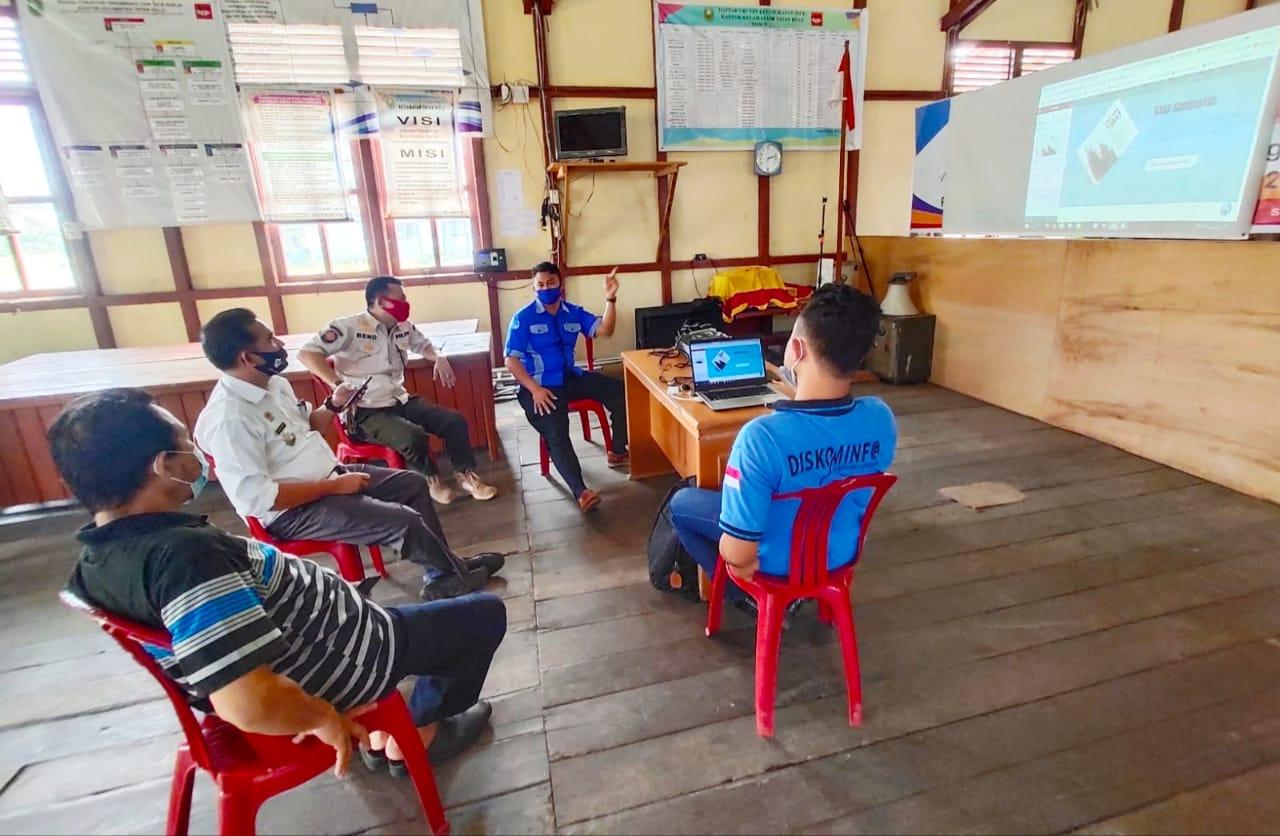 Dinas Kominfo Sanggau Bentuk PPID Kecamatan