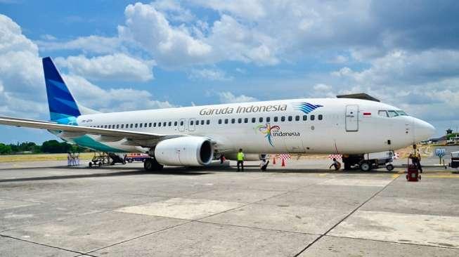 Meski Mudik Dilarang, Garuda Indonesia Tetap Beroperasi Normal