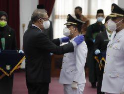 Gubernur Kalbar Lantik Bupati dan Wakil Bupati Sambas Terpilih