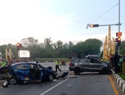 Tabrakan Beruntun di Tugu Digulis Libatkan Sejumlah Kendaraan, Polisi Lakukan Olah TKP