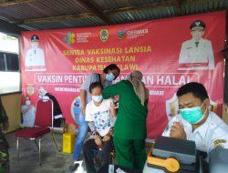 Lansia Melawi Disuntik Vaksin Corona, Dadi : Serentak di 11 Kecamatan