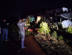 Rumah Dinas ASN di Mempawah Terbakar, Kerugian Ditaksir Rp 60 Juta Lebih