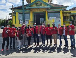 "Giring ""Nidji"", Plt Ketua Umum PSI Kunjungi Masjid Jami' Sanggau"