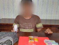 Ngontrak Rumah di Pasir Wan Salim, Pengedar Sabu Dibekuk Satres Narkoba