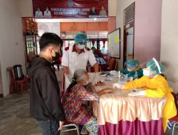 600 Warga di Sengah Temila Ikuti Vaksinasi Massal