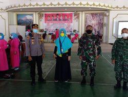 Di Motel Jumbo Sungai Pinyuh, 415 Warga Ikuti Serbuan Vaksinasi TNI-POLRI