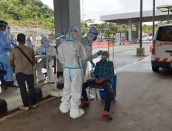 Antisipasi Varian Baru Covid-19, KKP Tingkatkan Pemeriksaan PMI dari Malaysia