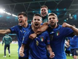 Italia vs Spanyol: Menang Adu Penalti, Gli Azzurri Lolos ke Final Euro 2020