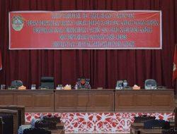 DPRD Landak Paripurna Pembukaan Masa Sidang 1 Tahun 2021 dan Penyampaian Laporan Hasil Reses