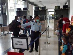 Kepulangan PMI di PLBN Entikong Melonjak Jelang Idul Adha