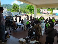 Polres Kayong Utara Laksanakan Tes Swab Antigen Rutin, Guna Cegah Penyebaran Covid-19
