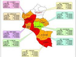 Meninggal Dunia 97 Orang, Tiga Kecamatan di Mempawah Kembali Zona Merah