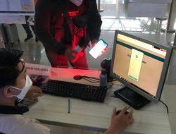 Penumpang Bandara Supadio Wajib Gunakan Aplikasi Peduli Lindungi