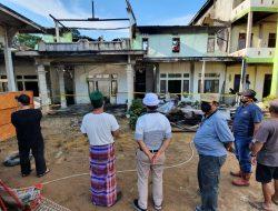 Ponpes Tahfidzul Qur'an Nusantara Terbakar, Pemkab Sintang Bantu Sembako untuk Santri