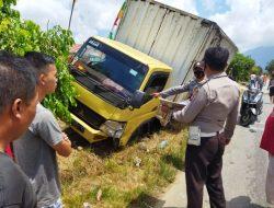 Kecelakaan Mobil Box Vs Sepmot di Desa Semade, Landak Telan Korban Jiwa