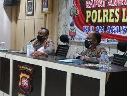 Kapolres Landak Minta Anggotanya Patroli Prokes Ditingkatkan