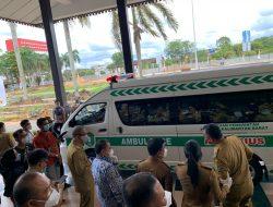 Bengkayang Terima Bantuan Satu Unit Mobil Ambulans dari Pemprov Kalbar