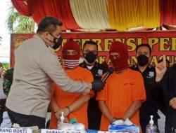 Tangkap 2 Pelaku, Polrestabes Medan Sita 3,1 Kg Heroin