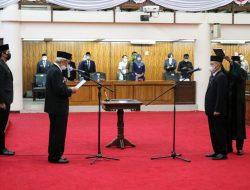 PLH Sekda Kalbar Hadiri Pelantikan PAW Anggota DPRD Kalbar