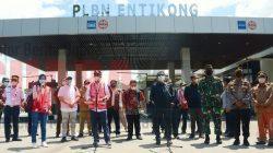 Menteri Perhubungan Kunjungi PLBN Aruk dan Entikong