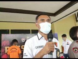 Saleh Kurap Buronan Bandar Narkoba Dibekuk Satreskrim Polres Kuburaya