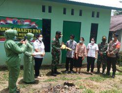 Penyadap Karet di Desa Bilayuk Landak Terharu Rumahnya Tuntas Dibedah Kodim 1201