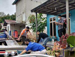 Pantau Kondisi Banjir, Bupati Melawi : Warga Pinggiran Sungai Harus Waspada