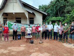 Realisasikan Program CSR, PT. Mayawana Persada Ketapang Bangun Gereja dan Sarana Air Bersih