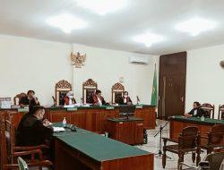 Terdakwa Gratifikasi PETI di Sanggau Divonis 1,4 Tahun