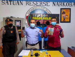 Dua Pengedar Sabu Lintas Kabupaten Ditangkap Satresnarkoba Sanggau