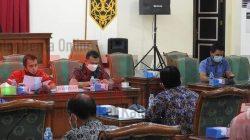 Komisi B DPRD Landak Rapat Kerja dengan Mitra Kerja Bahas Raperda Perubahan APBD 2021
