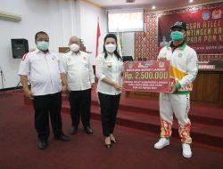 Karolin Lepas Kontingen PON XX Papua 2021 Asal Kabupaten Landak