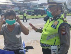75 Pelanggar Prokes Terjaring Giat Operasi Patuh Kapuas