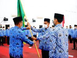 Pengukuhan Dewan Pengurus Korpri Kabupaten Landak Periode 2021-2026