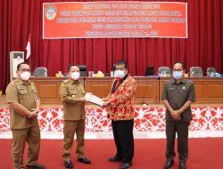 Fraksi DPRD Landak sampaikan PU Terhadap Raperda P-APBD 2021